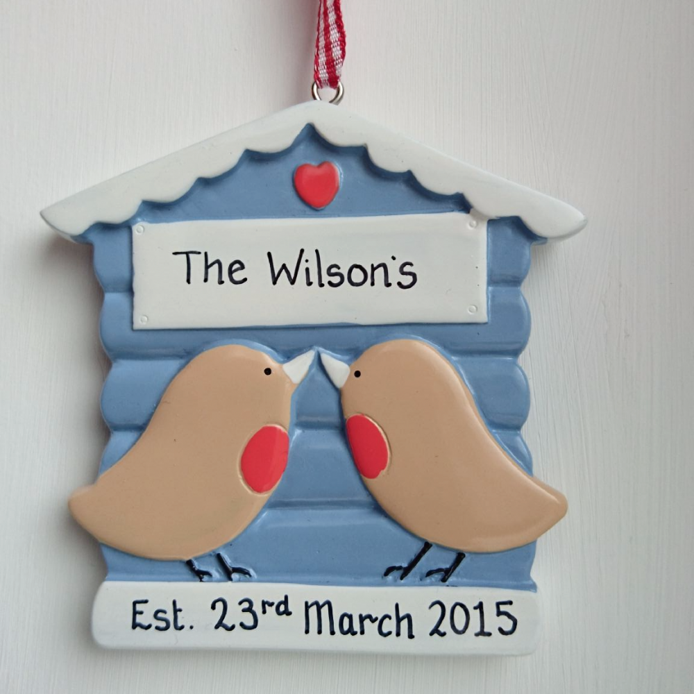 Personalised Robin Couple